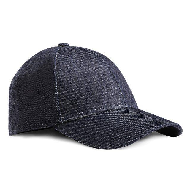 e9fb2b0b824 Camp Denim Dark Blue Snapback Cap by Acne