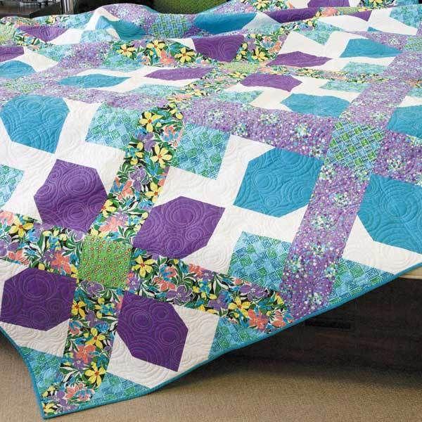 80 best Queen Size Quilts images on Pinterest | Ideas, Magazines ... : size queen quilt - Adamdwight.com