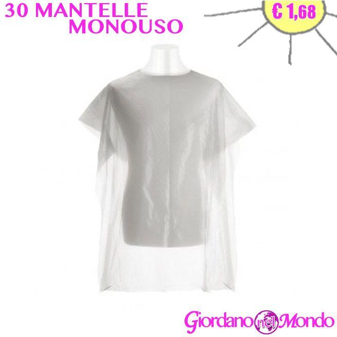 30 Mantelle Monouso Per Tintura Capelli A Soli 1 68 Shop On Line