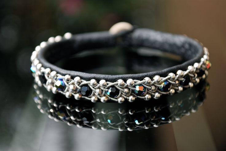 handmade Sami bracelets with Swarovski Crystals