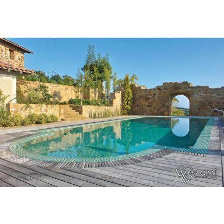 66 best images about carrelage piscine on pinterest for Blue piscine hannut