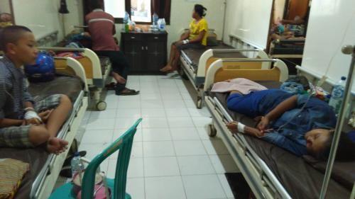 Santri Nurul Huda Kediri keracunan massal