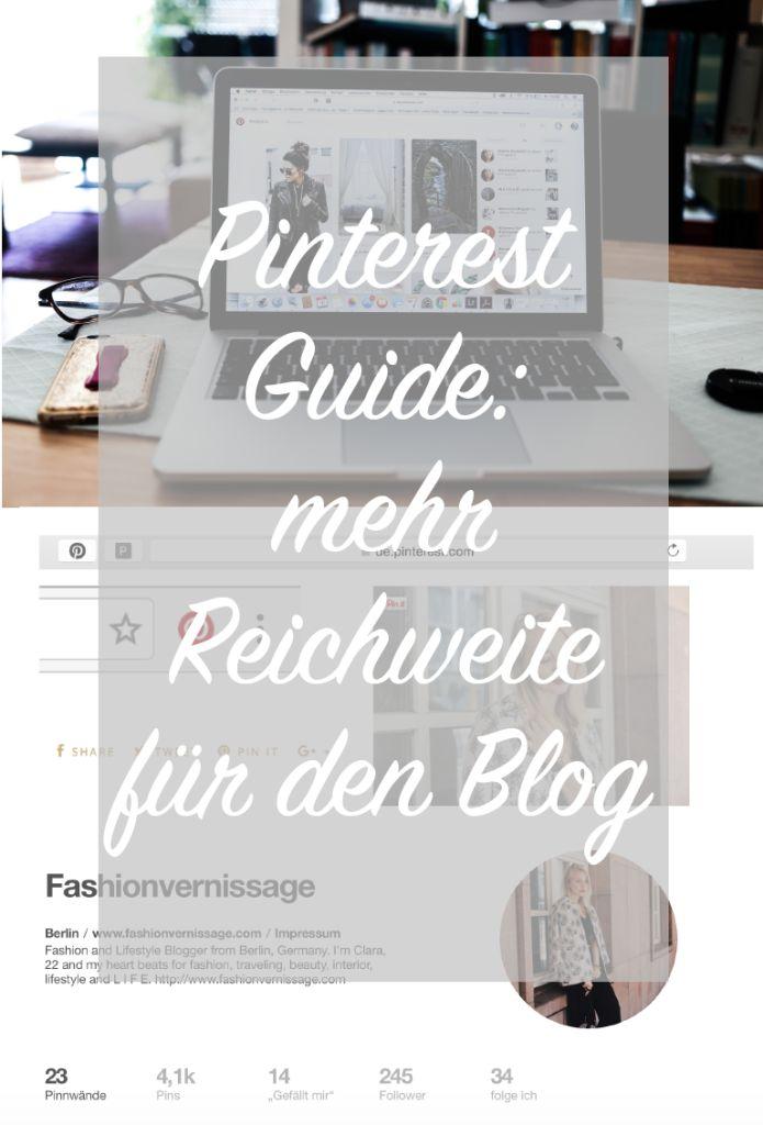 Pinterest für mehr Reichweite auf dem Blog: Pinterest Guide