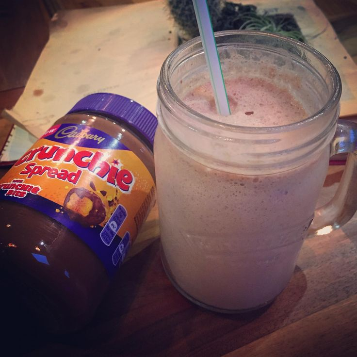 Pick your Poison: Cadbury's Crunchie Spread Milkshake