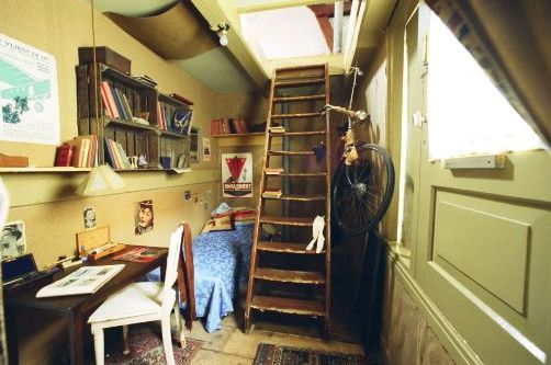 Peter S Room Diary Of Anne Frank Anne Frank Haus Anne