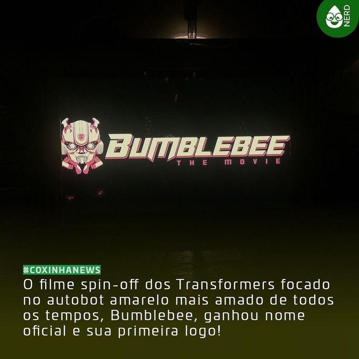 #CoxinhaNews Intitulado como Bumblebee: The Movie o filme vai acontecer nos anos 80 e deve estrear em 21 de dezembro de 2018!  #TimelineAcessivel #PraCegoVer  Imagem da logo do filme derivado dos Transformers com a notícia: O filme spin-off dos Transformers focado no autobot amarelo mais amado de todos os tempos Bumblebee ganhou nome oficial e sua primeira logo!  TAGS: #coxinhanerd #nerd #geek #geekstuff #geekart #nerd #nerdquote #geekquote #curiosidadesnerds #curiosidadesgeeks…