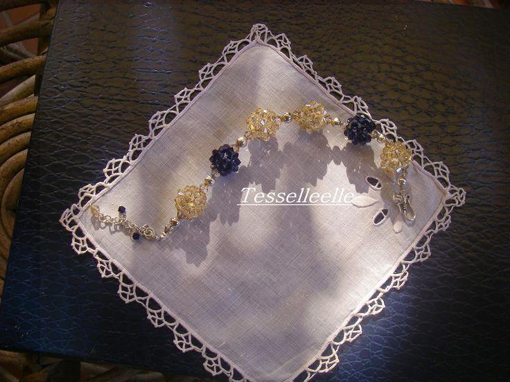 Di tutto un po'... bijoux, uncinetto, ricamo, maglia... ღ by tesselleelle ღ : swarovski