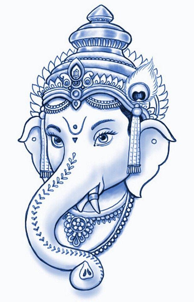 Pin By Santosh Subramanyam On Drawing Ganesh Art Paintings Ganesha Art Ganesha Drawing