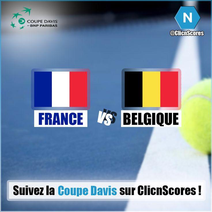 Place à la finale de la Coupe Davis avec un duel alléchant entre la France et la Belgique !