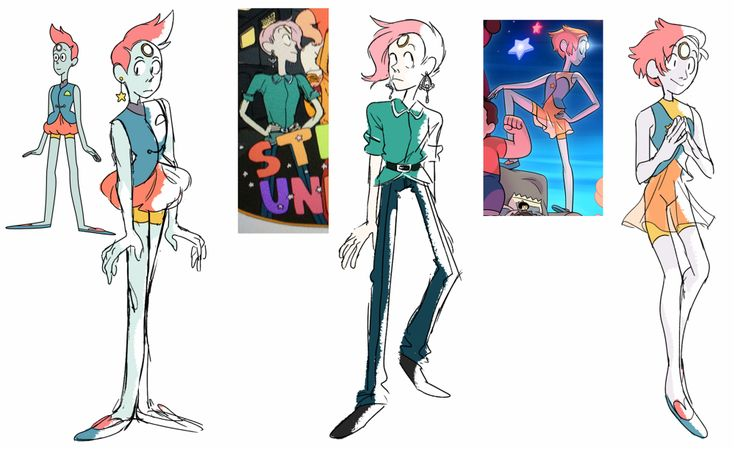 Steven Universe All Pearl Designs