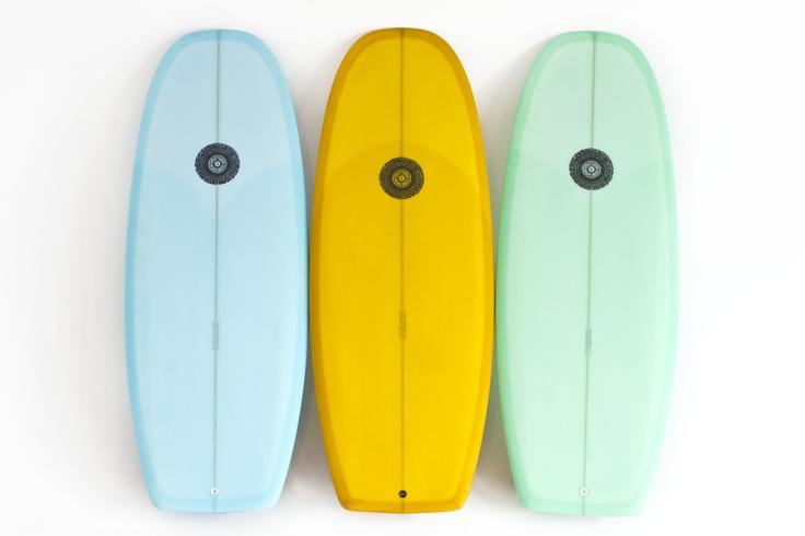 Deus Customs Surfboard shaped by Tyler Wareen