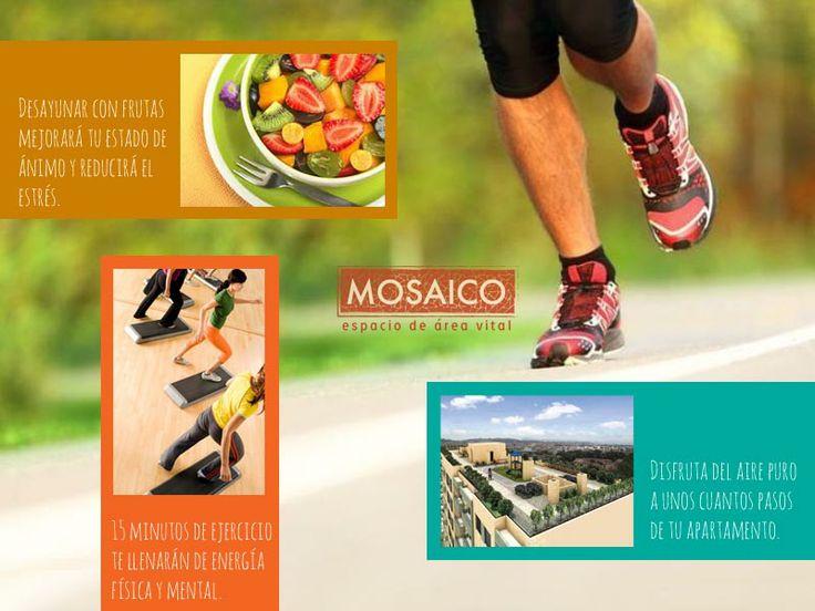 Una rutina saludable te espera cada mañana en proyecto Mosaico.  www.proyectomosaico.com