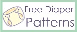 Small, Med, Lg & XL sized diaper patterns