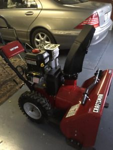 Powerful Craftsman Snow Blower for sale $700.00 (506) 921-0081 Southwest New Brunswick