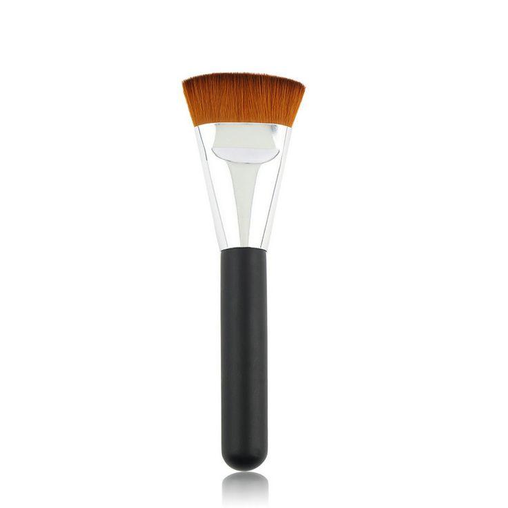 Professional Cosmetic Pro 163 Flat Contour Brush Big Face Blend Makeup Brush