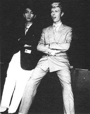 Thin white duke and Ryuichi Sakamoto