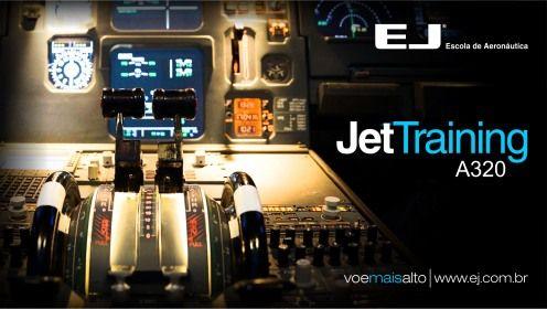Curso de Jet Training, ideal para sua formação profissional. | Mural informativo | EJ - Escola de Aviação Civil