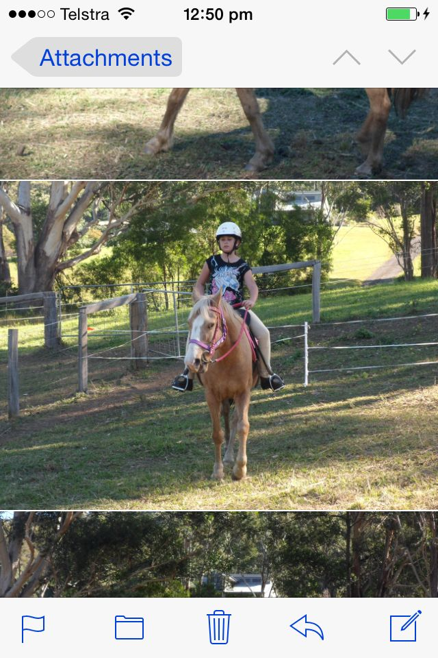 Me riding Bella a few weeks ago xx she was great to ride that day!