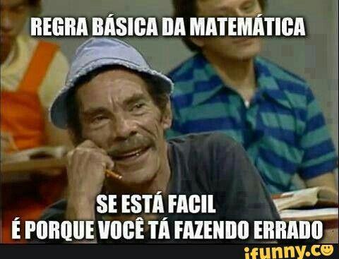 matemática humor piada escola zoeira