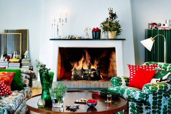 Svenskt Tenn - fireplace