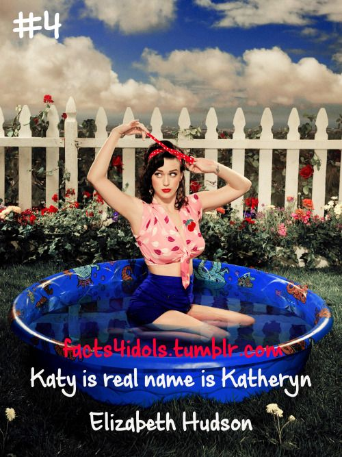 Celebrity Facts Katy Perry