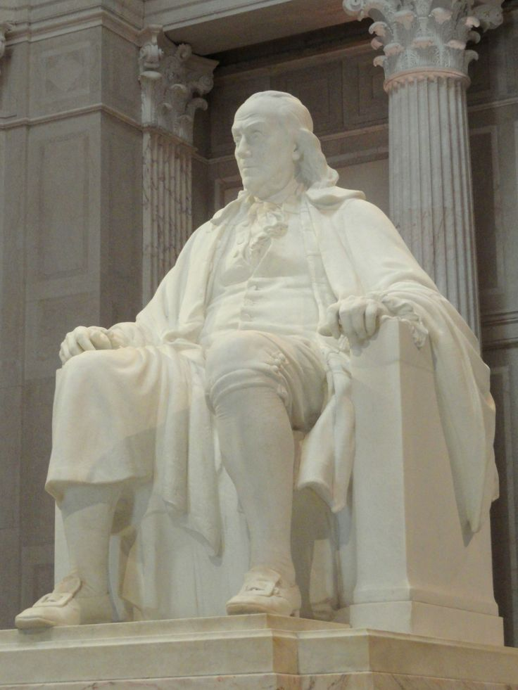 Benjamin Franklin National Memorial in Philadelphia Pennsylvania is a must see for tourists.