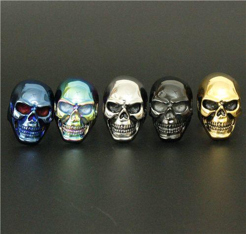 Colorful Stainless Steel Big Skull Ring //Price: $11.99 & FREE Shipping //     #skull #skullinspiration #skullobsession #skulls