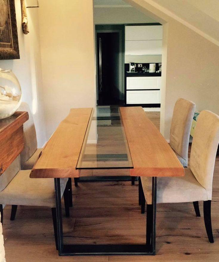 Oltre 25 fantastiche idee su tavolo in ferro su pinterest mobili in acciaio tavolo design e mesas - Mobili in castagno massello ...