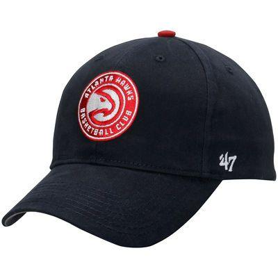 Youth Atlanta Hawks '47 Red Basic Logo Adjustable Hat