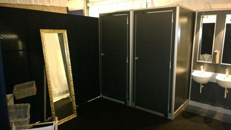 Portable bathroom model: DOT Fashion Set-Up for a private event.   Location: Puglia Italy #fashiontoilet #puglia #interiordesign #wedding #italydesign