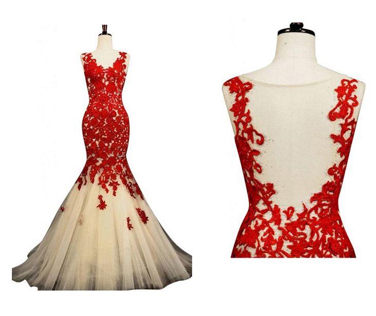 Best 23 red prom dresses ideas on Pinterest | Formal dress, Formal ...