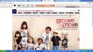 gap #ecommercewebsite design