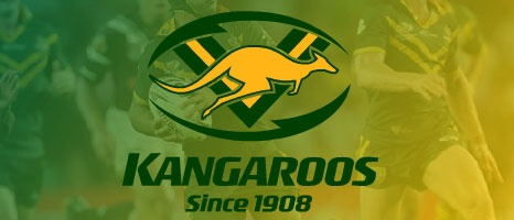 Australian Kangaroos Rugby League Team