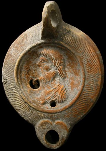 Ancient Roman Oil Lamp
