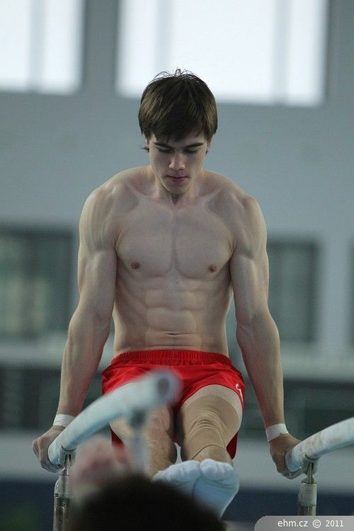 from Colin young gay gymnasts