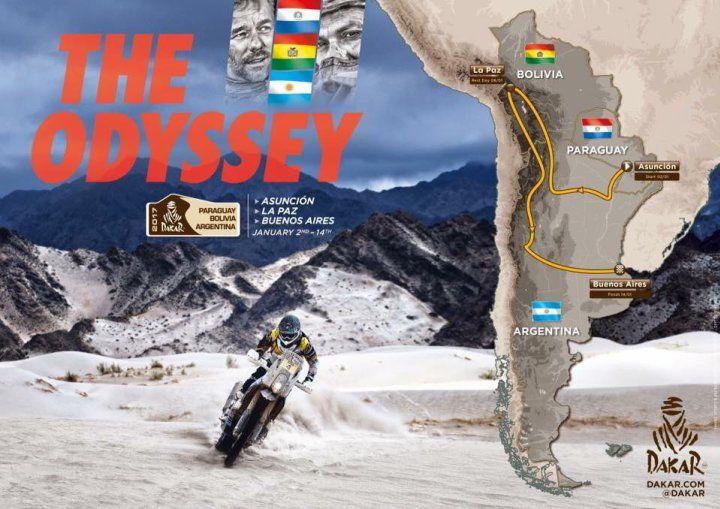 Rally Dakar 2017: larga en Paraguay y termina en Buenos Aires