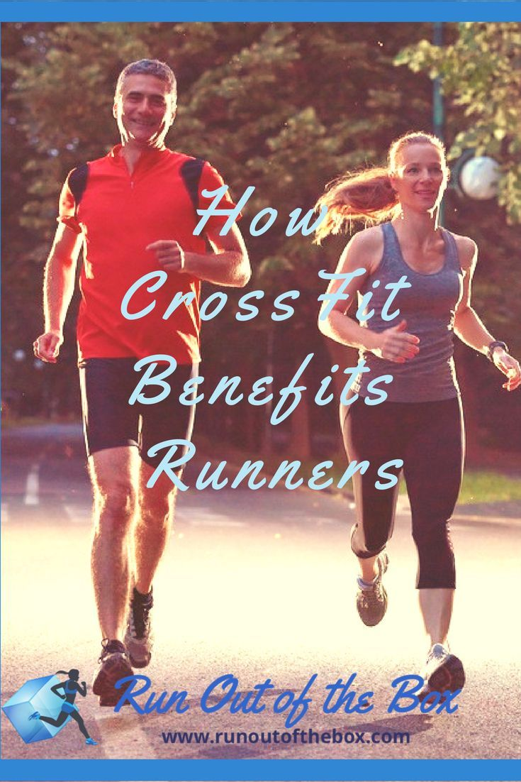 How CrossFit benefits runners, including some great CrossFit moves to incorporate into your race training plan | crossfit for runners | CrossFit for beginners #running #crossfit