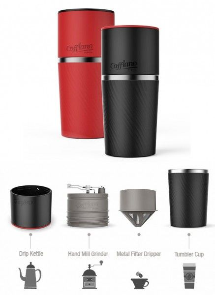 Brew fresh coffee anywhere with the Cafflano Klassic