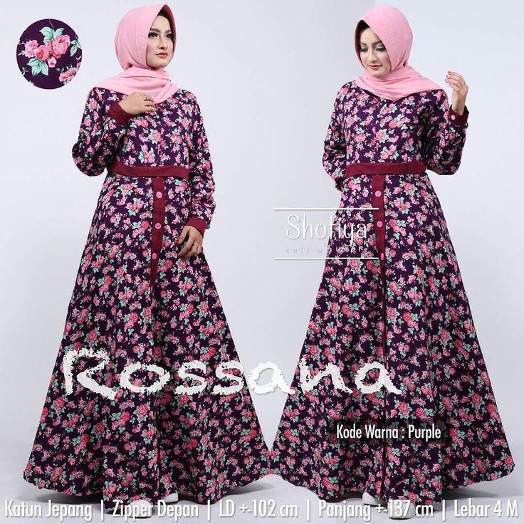 ROSANA DRESS IDR 225.000 OPEN RESELLER.. dapatkan diskon