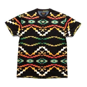 10Deep Sangoma Tee - Black Native Label: 10Deep  Format: T - Shirt £29.17 (£35.00 inc VAT) Available at www.catapult.co.uk