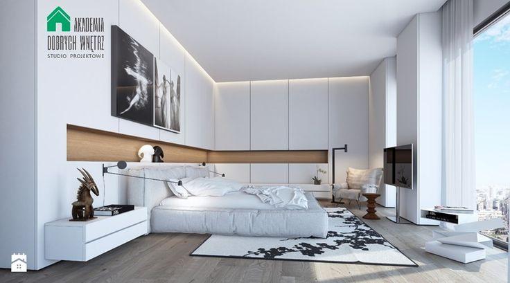 Sypialnia, styl nowoczesny - zdjęcie od domoplex.pl