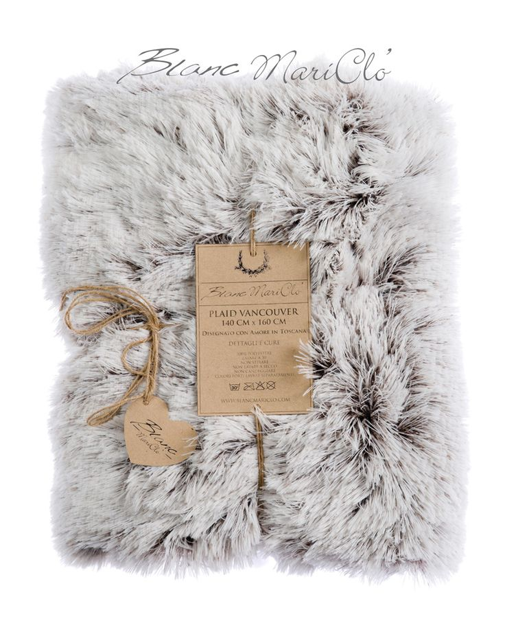 La camera da letto : Plaid Vancouver Blanc Mariclò