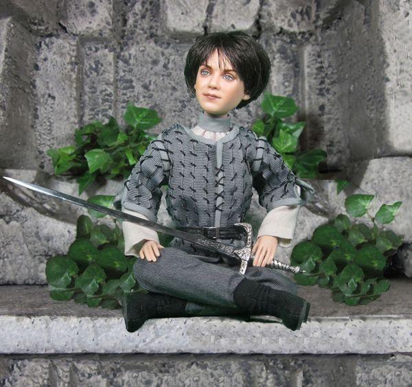 Game of Thrones Arya Stark Art Doll