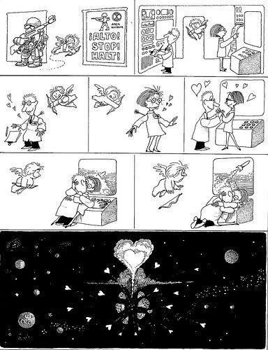 Quino - amor atómico