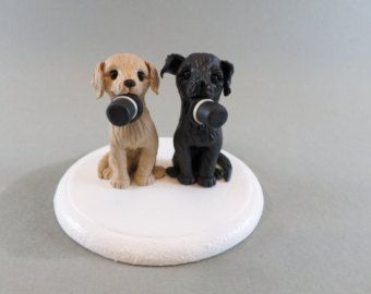 Dog Cake Topper by KrazyKoolCakeDesigns on Etsy