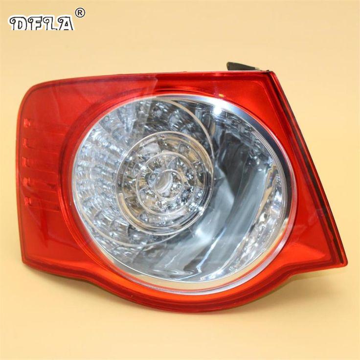 Car Led Light For VW Jetta V 5 2005 2006 2007 2008 2009 2010 2011 Car-Styling LED Rear Tail Light Lamp Left Side Outer LHD