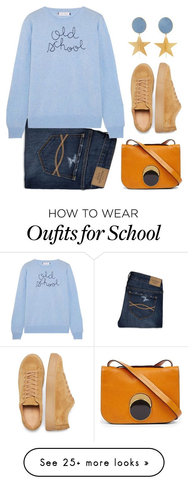 """""""Old School"""" by groove-muffin on Polyvore featuring Abercrombie & Fitch, Lingua Franca, Marni, Silhouette and vintage"""