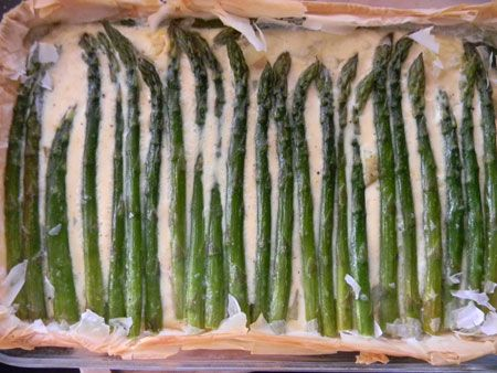 The Braumeister's Wife: Jamie Oliver's Asparagus and Potato Tart