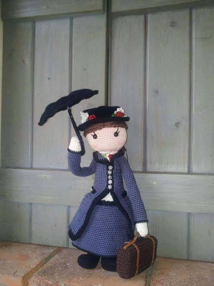 Mary Poppins door Jacqueline Aantjes bedacht.