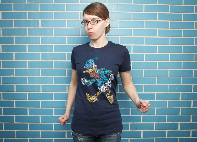 """""""Duck-Tiles"""" from Threadless - This is pretty cool."""